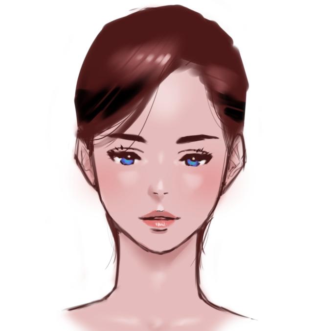 これで女の子のイラストが描ける綺麗な顔を描くためのたった2つの