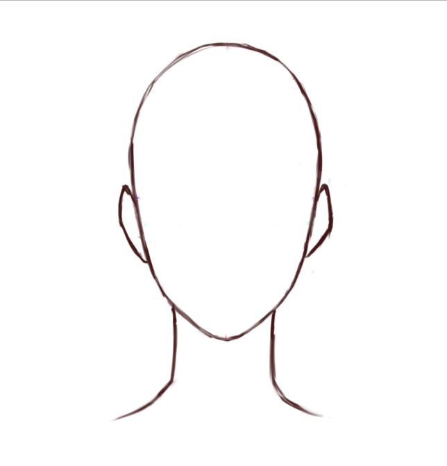キャラ絵の鬼門アオリ顔の描き方 マエコのデジタル工房