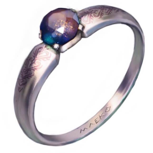 宝石の透明感貴金属の輝き鏡面への映り込みの描き方厚塗りで魅惑の